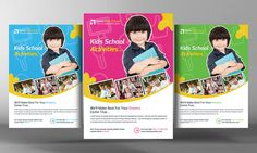 Check out Kids Education Flyer Template by Business Templates on Creative Market