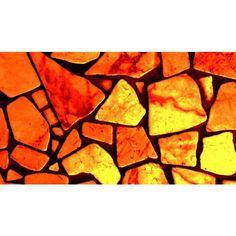 Orange Marble Background ❤ liked on Polyvore featuring orange