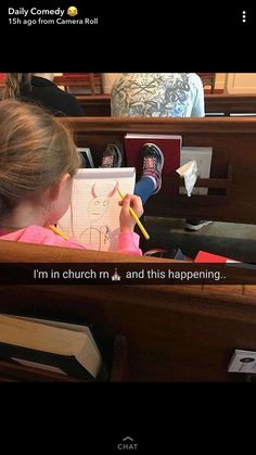 Good for her, Satan is much better than god if you actually paid attention to the bible 😊 this girl is woke Funny Jokes, Hilarious, Funny Stuff, Funny Pins, Christian Memes, Funny Tumblr Posts, Funny Stories, Laughing So Hard, Best Memes