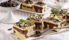 Nezvyčajný postup: Mramorovaný koláč s tvarohovými guľkami | DobreJedlo.sk