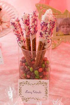 fairy wands.... @Terri David Hurt. This looks like something the girls would love!