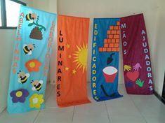 Estos banners son excelentes para decorar cualquier ocasion del Club de Aventureros