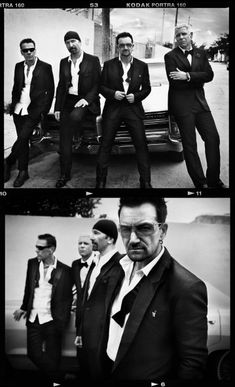 U2 by Vincent Peters Beautiful B & W photography check out Vincent Peter's website.