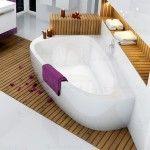 Schürze für Luxus- Eckbadewanne Lovestory links/rechts