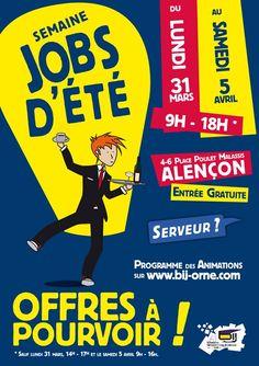 Semaine Jobs d'été. Du 31 mars au 5 avril 2014 à alencon.