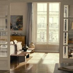 If you haven't seen Last Love on Netflix, I highly recommend it. It was shot on film, and the colors and design of this elderly man's gorgeous apartment are enough to inspire you for life.