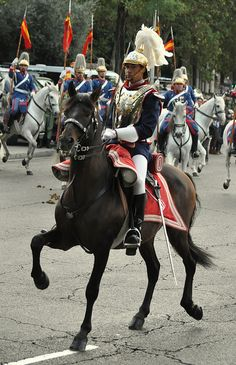Royal Guard Cuirassier Spain