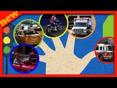 Finger Family Song with Vehicles | Daddy Finger Song with Vehicles | Nursery Rhymes for children - YouTube