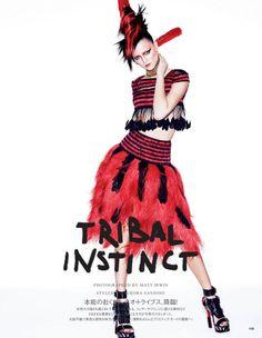 Tribal Instinct (Vogue Japan)