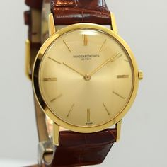 1965 Vacheron Constantin 18K Yellow Gold Ref. 6115
