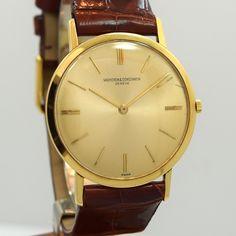 1965 Vacheron Constantin 18K Yellow Gold Ref. 6115