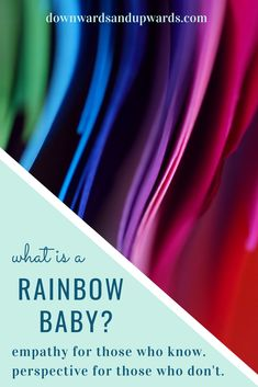 What is a Rainbow Baby? Whether you have no idea or know all too well, this is a perfect place to start - or continue - your journey. Dealing With Grief, Ectopic Pregnancy, You Have No Idea, All Is Well, Rainbow Baby, Self Improvement, Perfect Place, Parenting, Journey