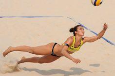 Elsa Baquerizo, 25 años, jugadora de voley-playa de España.