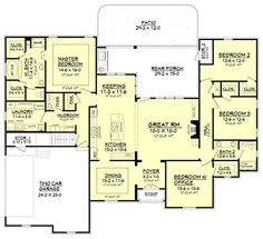 Cool Floorplan Twostory European Style House Plans 14814 Square Foot Largest Home Design Picture Inspirations Pitcheantrous