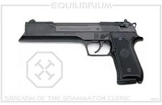 Grammaton Cleric pistol from Equilibrium - Internet Movie Firearms Database - Guns in Movies, TV and Video Games