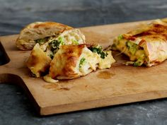 Chicken, Broccoli and Cheese Garbage Bread : Recipes : Cooking Channel Cooking Channel Shows, Cooking Tips, Cooking Recipes, Cooking Quotes, Cooking Pasta, Oven Recipes, Cooking Videos, Easy Cooking, Yummy Recipes