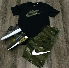 men's street style outfits for cool guys Dope Outfits For Guys, Swag Outfits Men, Stylish Mens Outfits, Tomboy Outfits, Tomboy Fashion, Sneakers Fashion, Casual Outfits, Fashion Outfits, Nike Outfits For Men