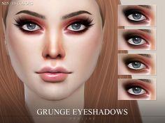 Pralinesims' Grunge Eyeshadows N15