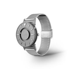 """Eone Bradley Timepiece Lets You Actually """"Feel Time"""" By The Balls -  #design #fashion #watches"""