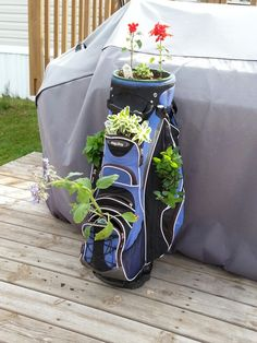 Herb golf bag