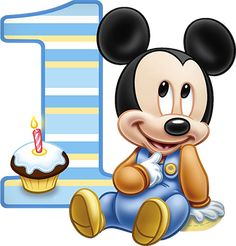 Imagenes y elementos Minnie Baby & Mickey Baby Bolo Mickey Baby, Baby Mickey Mouse Cake, Festa Mickey Baby, Theme Mickey, Mickey Mouse Images, Mickey Mouse Baby Shower, Mickey Mouse Cartoon, Baby Mouse, Baby Boy 1st Birthday