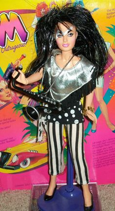 Jem and the Holograms Jetta (Misfits), 1987 - Had her, she was my favorite!