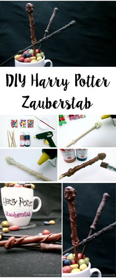DIY Harry Potter Zauberstab  //  DIY Harry Potter Magic Wands