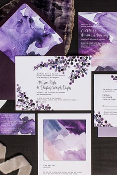 WedLuxe – InstaLove: Lavender | @lovelypaperthings Follow @WedLuxe for more wedding inspiration!