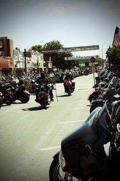 Sturgis Motorcycle Rally   Sturgis, SD