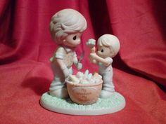 "Precious Moments ""My Grandson, My Delight"" Hamilton Collection 2008"