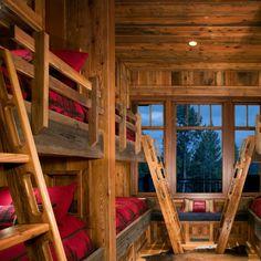 Perfect cabin bunks