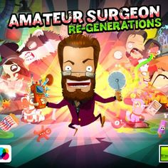 This time it is about a game application for smartphones and it's the Amateur Surgeon 4 ! For those who already played this game, it's add. T Play, Games To Play, Gadgets, Technology, Reading, Movies, Movie Posters, Tech, Films