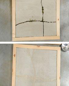 Carpenter Sean Ennis shares an easy method for filling cracks in asphalt and concrete surfaces.