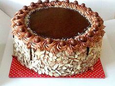 Ferrero Torta (Cooking by Mirjana Torte Recepti, Kolaci I Torte, Sweet Recipes, Cake Recipes, Dessert Recipes, Cake Cookies, Cupcake Cakes, Torta Recipe, Fondant Cake Designs