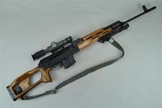 PSL A Romanian made semi-automatic rifle chambered in 7.62x54R, it is often misidentified as a Dragunov due to their somewhat similar silhouette. Note that this one has the cut down 10-round magazine,...