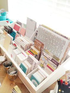 Organization Project Life  - craft room