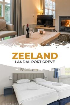 Landal Port Greve. Would you like to stay somewhere lovely in Zeeland, The Netherlands. Landal Port Greve is located along Grevelingenmeer and near the beach. What a lovely spot for a holiday! Historical Monuments, Netherlands, Travel Inspiration, Dutch, Stuff To Do, Holiday, Home Decor, The Nederlands, The Netherlands