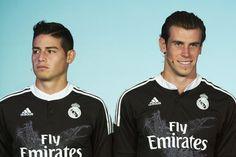 James y Bale con su camiseta negra. 2014