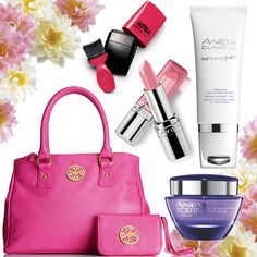 Grab a great purse & fill it FULL of Anew skincare & makeup goodies ... email me @ jennifermlayne@yahoo.com to order or head over to www.youravon.com/jenniferlayne to order
