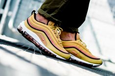 low priced 813cb ab83c Nike WMNS Air Max 97 Wheat Gold Is Perfect For Summer The Nike WMNS Air Max