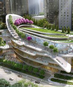 25Casas del futuro donde dan ganas demudarse ahora mismo Futuristic Architecture, Landscape Architecture, Amazing Architecture, Garden Bridge, Enterprise Architecture, Architectural Salvage, Mondo, Helsinki, Interview Questions