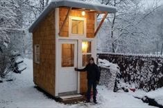 Iowa boy builds tiny house in his backyard