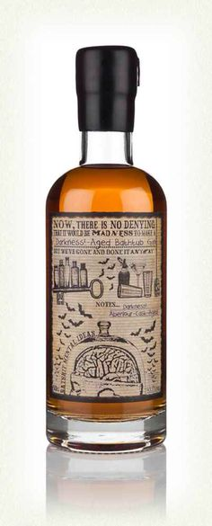 Aged Dark Gin # Gin of the World # from Bathtube#