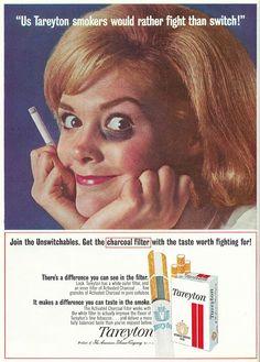 Sell Me Yesteryear: Tareyton Cigarettes