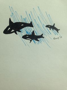 Orca 100th Day, Drawings, Projects, Character, Art, Log Projects, Craft Art, Kunst, Drawing
