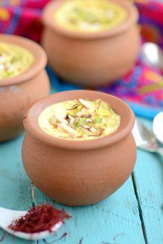 Delicious Kesari Rabadi is a perfect recipe to make for Janmashtami or Gokulashtami.