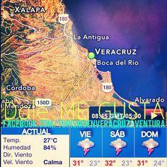 Buenos días feliz #viernes con buen #clima iniciamos el fin de #semana para #visitar #Veracruz #MeGusta http://www.facebook.com/TurismoEnVeracruzAventura #Mexico
