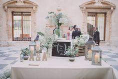 Bodegón boda, rustic-chic, elegante, boda en palacio