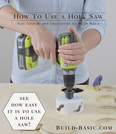 I recently participated in a Home Depot Lumber DIY Challenge where I built a Connect-4-style yard game. The project called for some quite a few cuts with the hole saw. By the end of the proj...