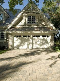 Garage addition + Brick pavers